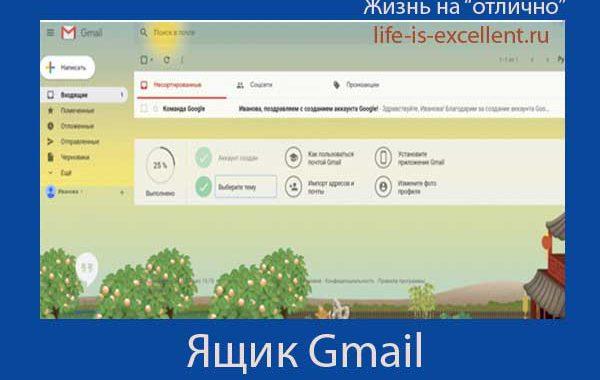 Ящик Gmail